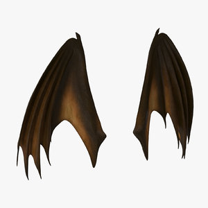 orange closed dragon wings max