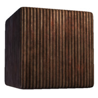 Rusted Corrugated Steel