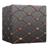 Rusted Wire Mesh Net