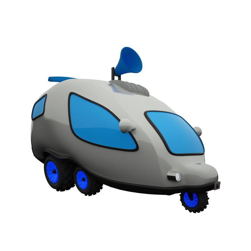 buggy car 3d max