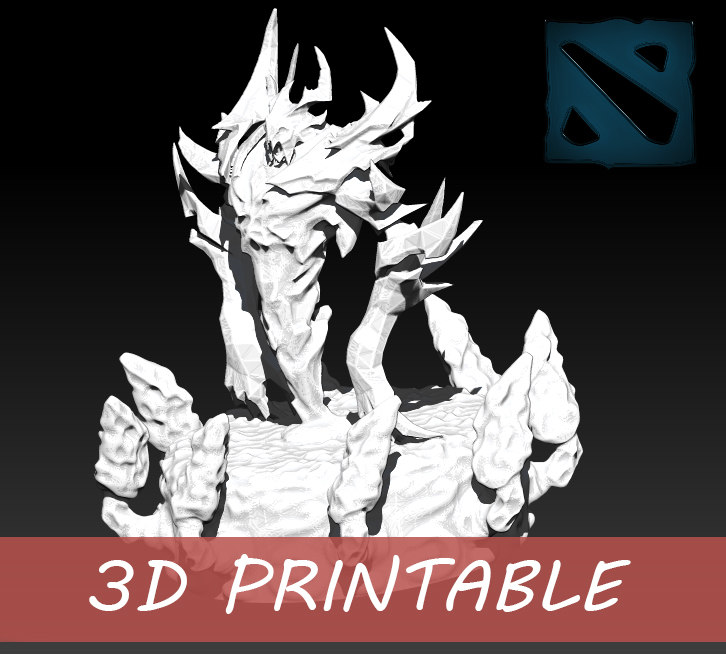 3d shadow fiend printable print