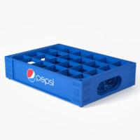 Plastic Pepsi Crate