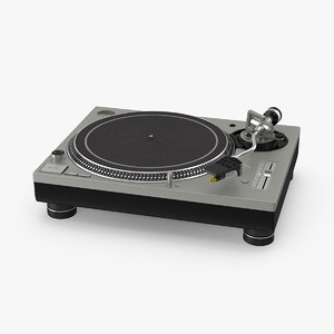 3d model turntable
