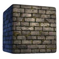 Mossy Castle Wall