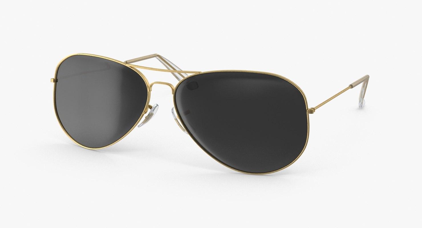aviator sunglasses open max