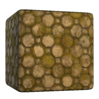 OctaSquare Mossy Stones