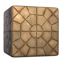 Octagon Paving Stone Pattern
