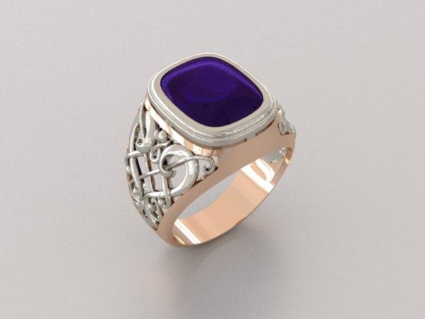 ring luxe ii 3d model