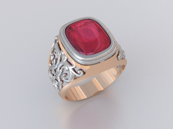 3d ring luxe model