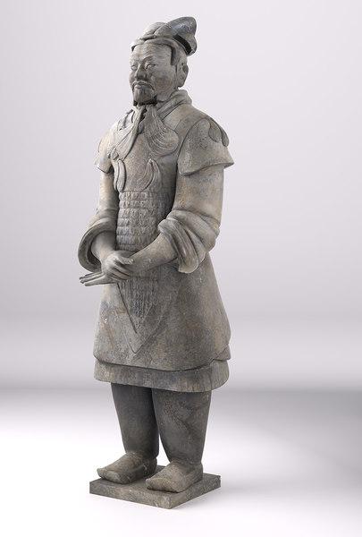 terracotta chinese warriors 3d model