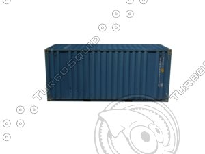 shipping container c fbx free