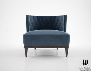max brabbu bourbon armchair
