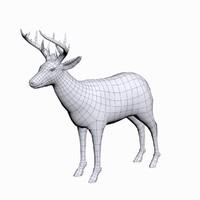 3d Deer Buck