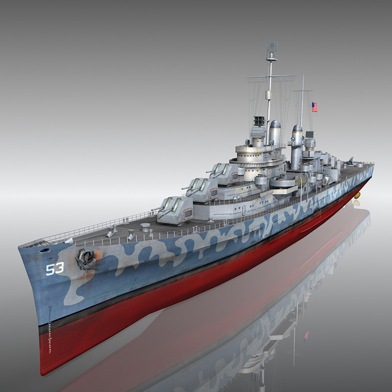 3d uss san diego camouflage