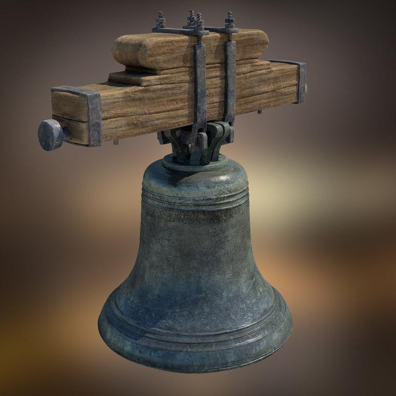 church bell fbx