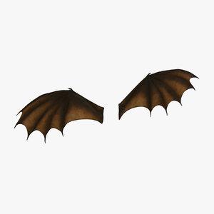 orange opened dragon wings max