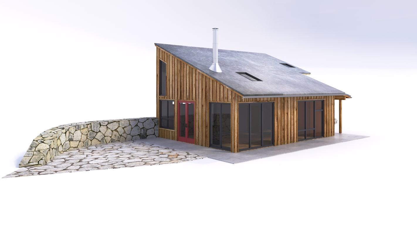 summer house 3d max