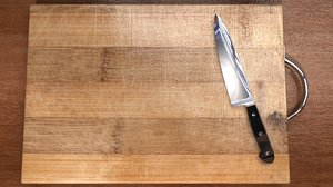 cutting board knife 3d model