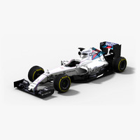 3d williams martini racing fw38