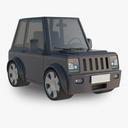 cartoon car 3D models
