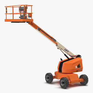 3d telescopic boom lift generic model