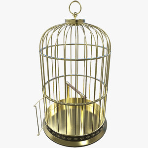 birdcage modelled 3d model