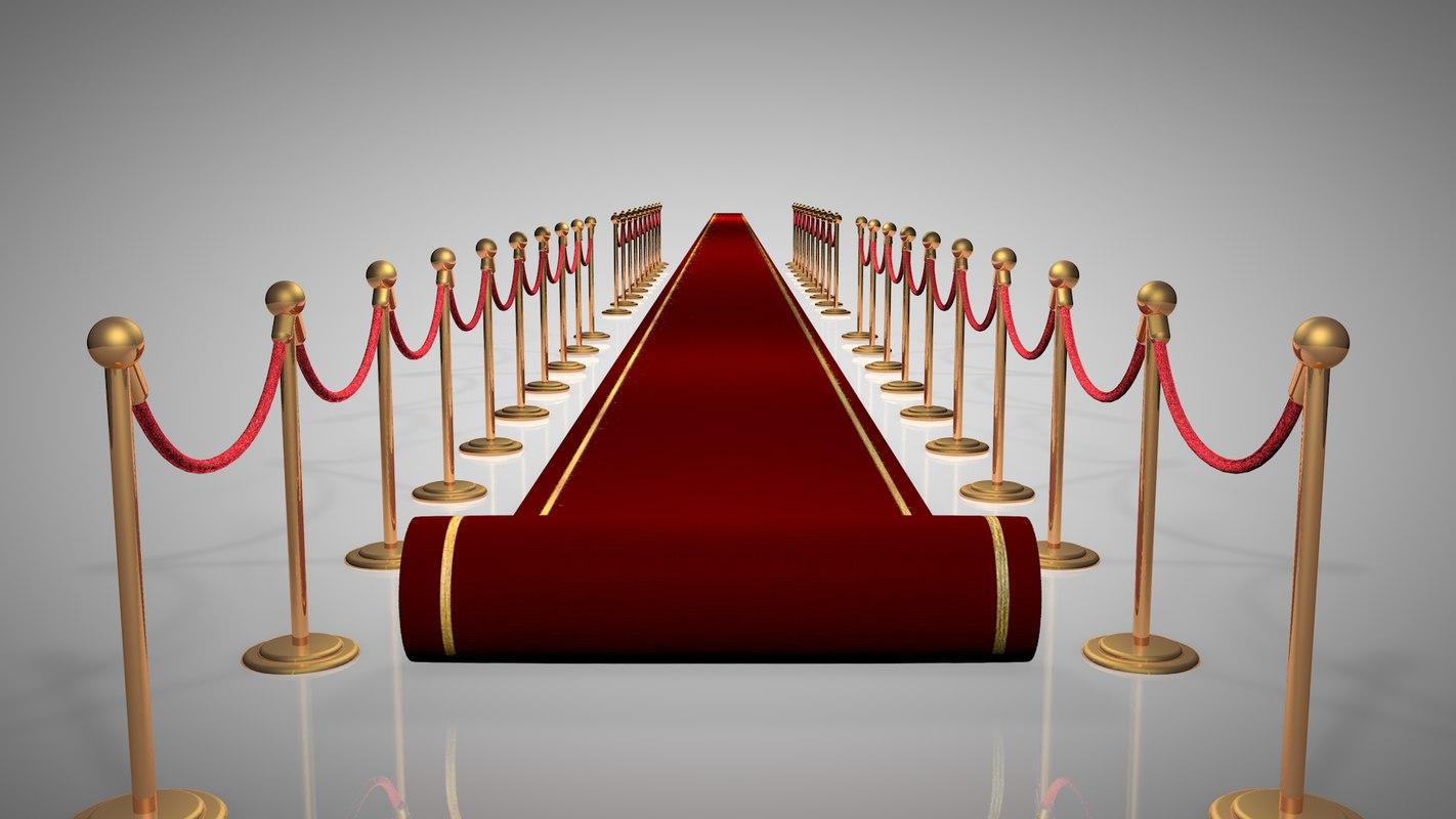 red carpet 3d 3ds
