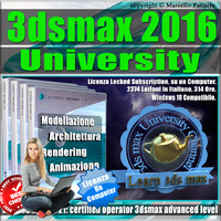 3ds max 2016 University Locked Subscription, un Computer