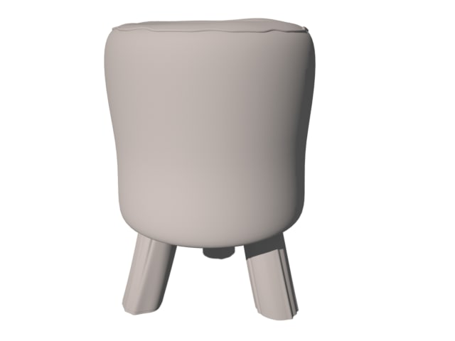 animal stool obj