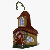 fantasy house 3d 3ds