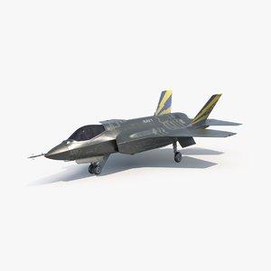 lockheed martin f-35 lightning 3d max
