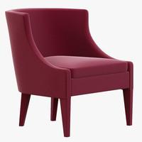 3d koket chignon chair