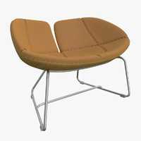 fjord armchair brown chairs max