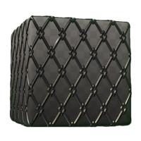 Diamond Pattern Metal Fence