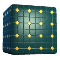 Diamond and Square Color Tiles