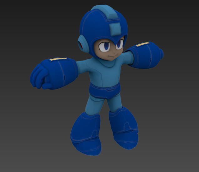 3d rigged animation