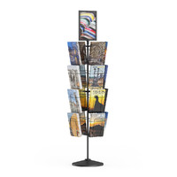 stand magazines 3d max