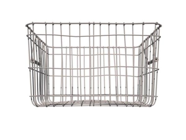 wire basket 3d obj