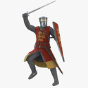 Crusader 3D models