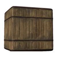 Dirty Old Oak Barrel