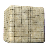 Disgusting crack-house tile with Syringes