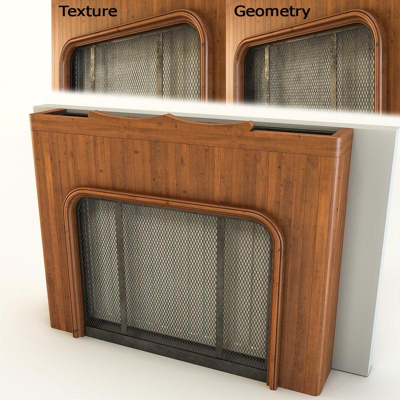 3d model radiator screen 2