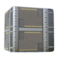 Sci Fi Storage Panels
