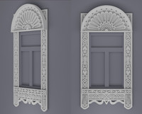 3d window frames