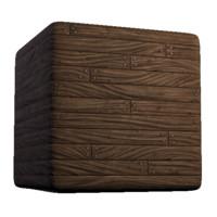 Fantasy Wood Planks Nailed