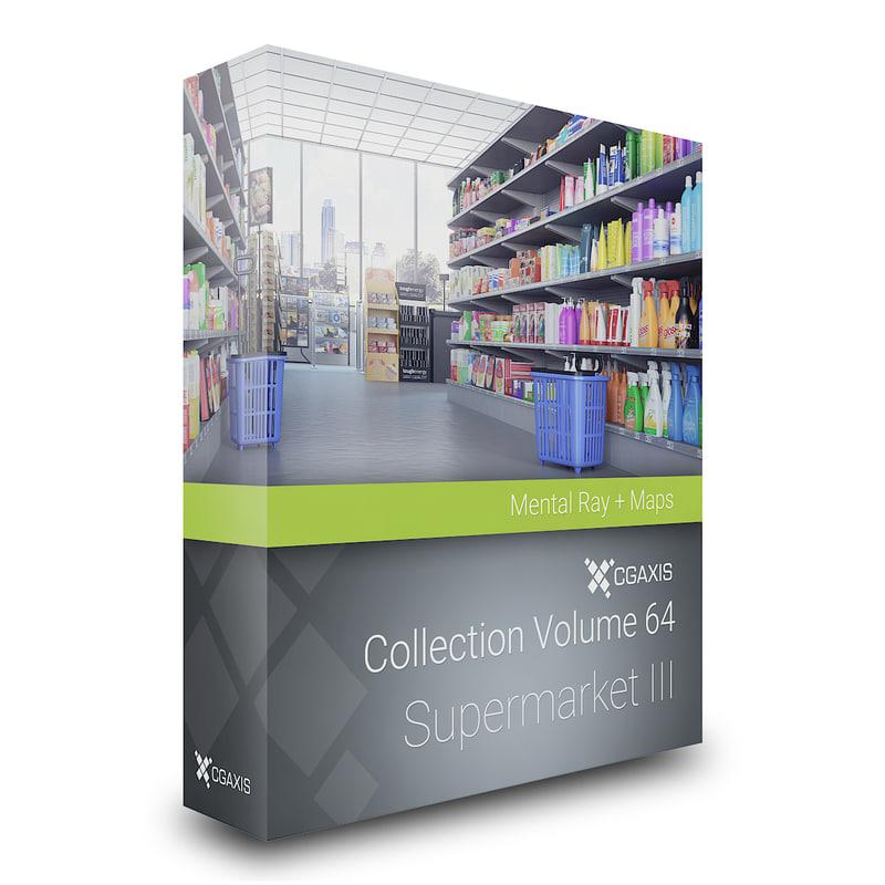 volume 64 supermarket market max