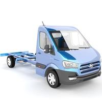 hyundai h350 chassis-cab 3d max