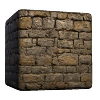 French Stone Wall