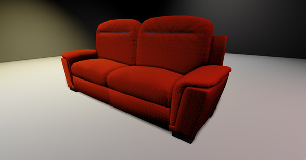 3d sofa engine udk3 model
