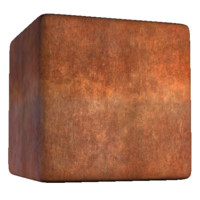 Solid Rust Wall 37